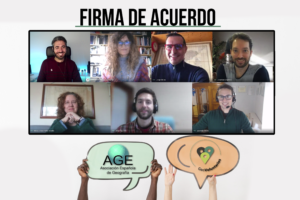 Convenido de colaboración Geovoluntarios y Asociación Española de Geografía