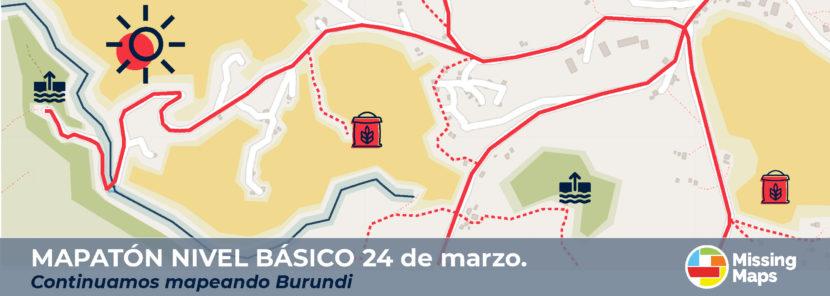 Mapatón geovoluntarios Cruz Roja Española